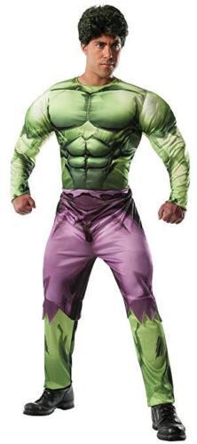 NEW..Rubie/'s Costume Men/'s Marvel Universe Adult Deluxe Hulk Costume