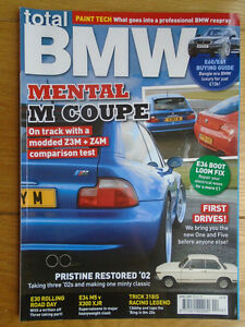 Total Bmw Apr 2007 M Coupe E60 61 Buying Guide 2002 E35 M5 Vs