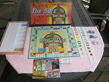 The 50's Board Game ~ A Game for Your Generation~New In opened Box~Sealed Parts!