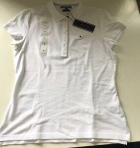b9cdfb6e39e Image is loading Tommy-Hilfiger-Ladies-Designer-Polo-Shirt-large