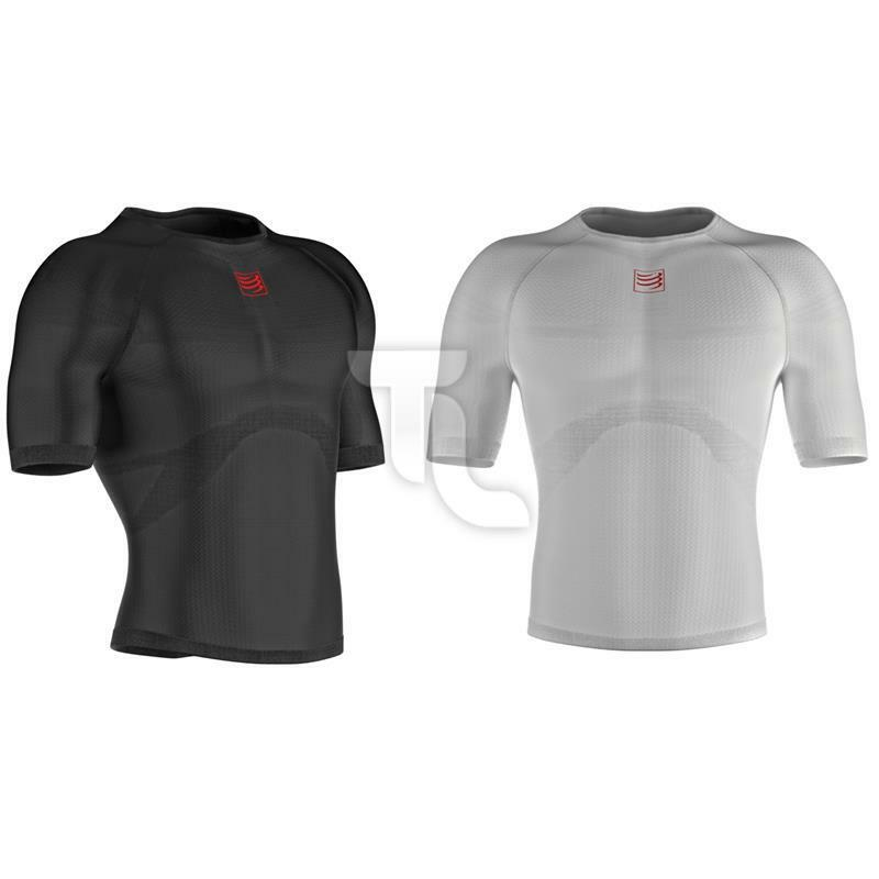 Compressport 3d Termo Ultralight Shirt a uomoiche Corte Top nuovo Uomo