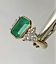 2-45Ct-Emerald-Green-Emerald-Antique-Vintage-14K-Yellow-Gold-Over-Wedding-Ring thumbnail 6