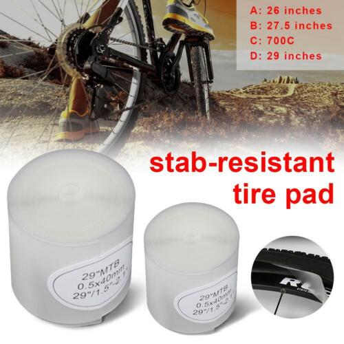 Bicycle Bike Tire Liner Anti-Puncture Tyre Protector Tape 26//27.5//29 inches