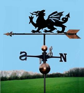 Handmade Welsh Dragon Weathervane Very High Quality