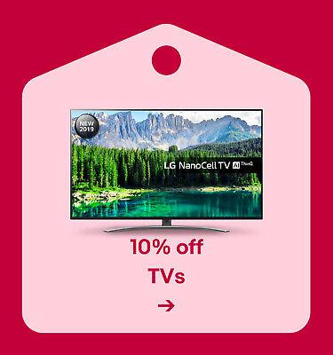 10% off TVs
