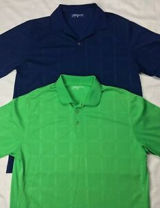 580ea2b6a Nike Mens XL Navy Green Dri Fit Short Sleeve Golf Polo Shirts Lot 2 ...