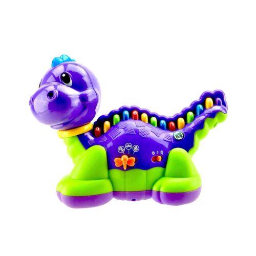 Leapfrog Lettersaurus Dinosaurier Bildungs Batteriebetrieben Alphabet Farben Lernspielzeug Kindercomputer