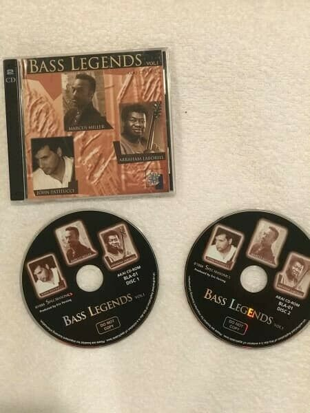 Spectrasonics Bass Legends CD-ROM Set