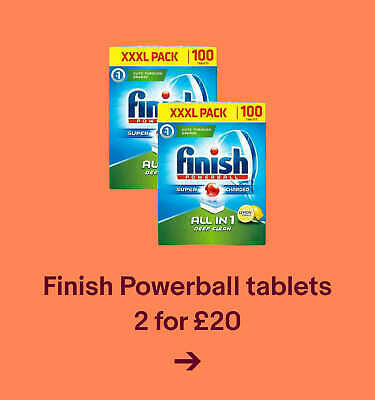 Finish Powerball tablets - 2 for £20