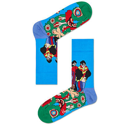 Socken The Beatles Pepperland Temperamentvoll Happy Socks Women's Crew Socks Damenmode