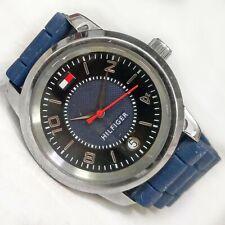 Arcaico Brillante Timer  Tommy Hilfiger George Mens Leather Date Watch 1710329 for sale online | eBay