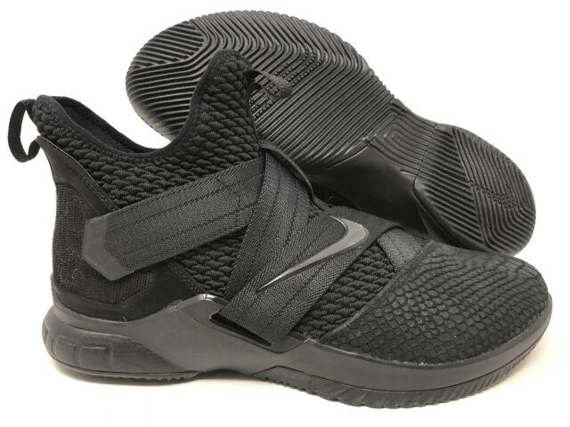 best website 2b8f0 ac1e9 Nike Lebron James Soldier XII 12 SFG Basketball Shoes Ao4054 003 Sz 13 Snake