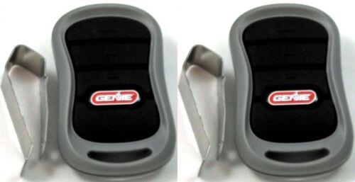 GENIE G3T-BX 2 Pack 3-Bouton intellicode II porte de garage Mini Remote 315 MHz 390mh