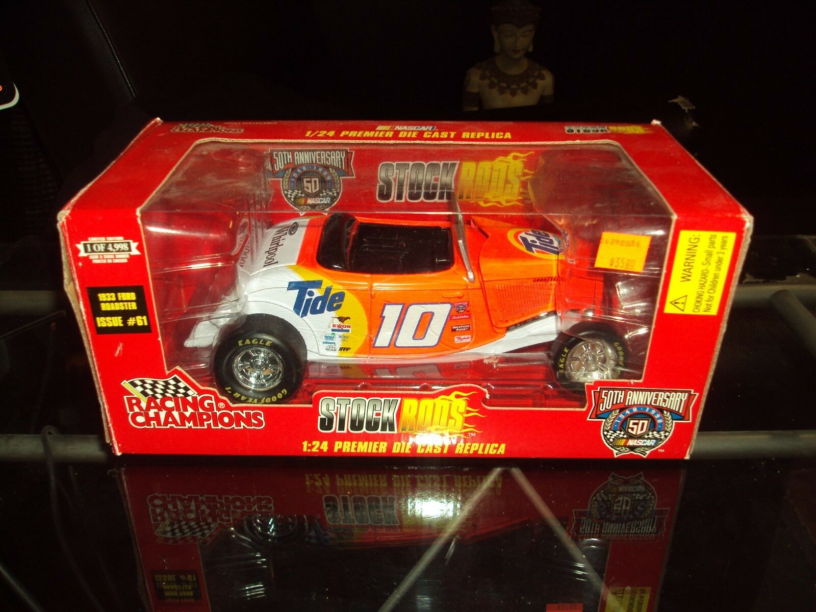 Racing Champions  10 Nascar 1998 Pontiac 1 24 Die Cast Issue  61 50th Annivers.