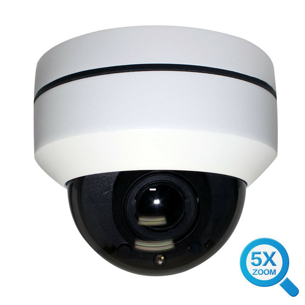 5MP HD 1920P Network PoE Dome Weatherproof IP Security Camera 130FT IR 1pcs