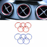 Car Air Condition Air Vent Outlet Ring Trim Decoration For Mercedes Benz Amg Wr