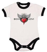 Baby Body, Bon Jovi 1 Fun , Bodysuit Kurzarm Black