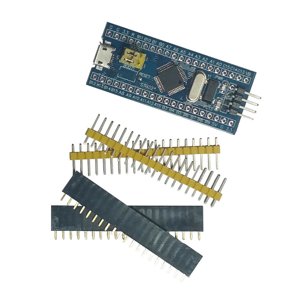 Details about 2pcs STM32F103C8T6 ARM STM32 Development Board Module Blue  Pill + ST-Link V2 USA