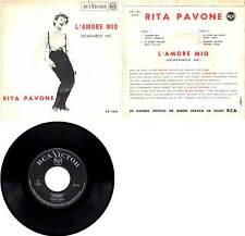 RITA PAVONE L'AMORE MIO+3 RCA VICTOR TP-194 PORTOGALLO