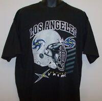 Los Angeles Xtreme Xfl Football League Medium Tee Shirt Free Shipping