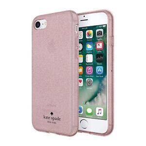 Kate Spade New York Flexible Case iPhone 8 Rose Gold Glitter KSIPH-089-RGG-FR