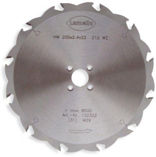 Lamello HW-Sägeblatt Ø 200 x 2.4 x 22 mm Z12 (Standard)   132322