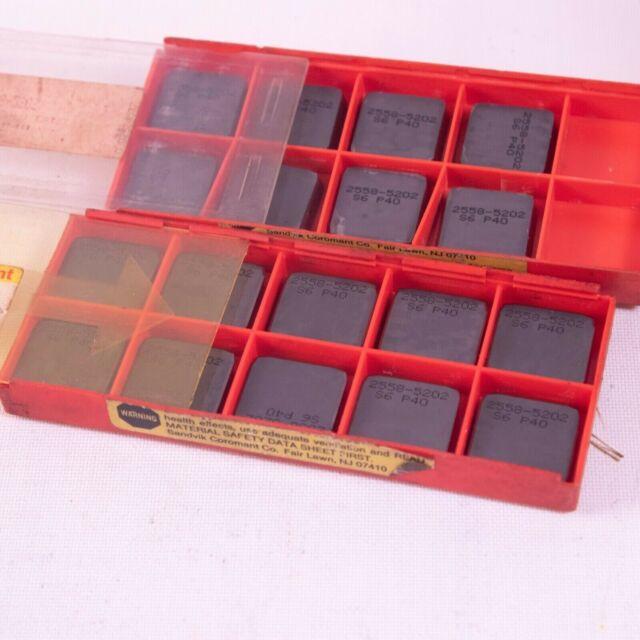 NIB Sandvik Coromant Carbide Grooving Lathe Inserts TPMR 731 S6 10-Pack