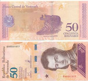 Venezuela-Bol-Rep-91-50-Chip-soberanos-18-5-2018-UNC-Pick-NEW