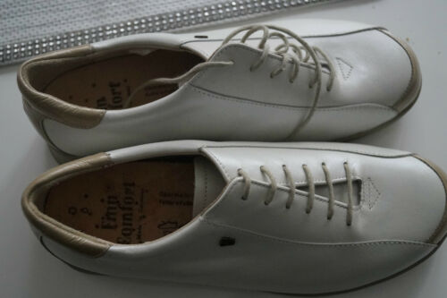 Finn Comfort Ladies Shoes Lace up with Insoles Gr.6/39,5 Cream White New
