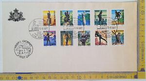FDC - San Marino - 1987 - Un museo all'aperto - completa - NVG - con 10.000 lire - Italia - FDC - San Marino - 1987 - Un museo all'aperto - completa - NVG - con 10.000 lire - Italia