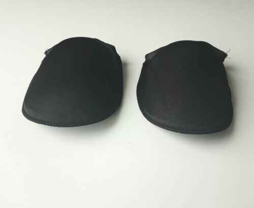One Pair Of Raglan shoulder pads Black or White in Medium-Nylon Covered FREE P/&P