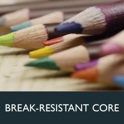 Metal Tin 24 Count 0701027 Derwent Colorsoft Pencils 4mm Core
