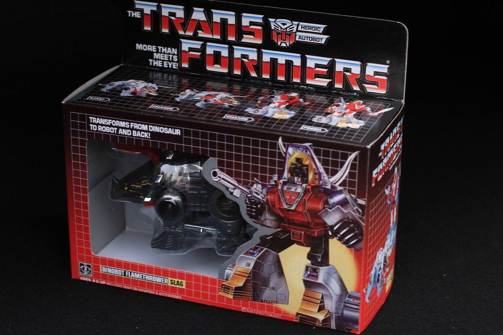 Transformatoren tf g1 neuauflage dinobot flammenwerfer schlacke action - figuren