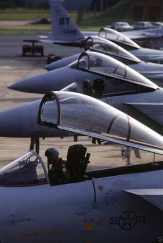 F-15C Eagle aircraft 8X12 PHOTOGRAPH