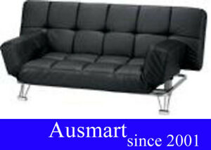 Black-sofabed-with-ajustable-armrest-delivery-within-melb-metro-from-0-to-30