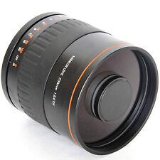900mm f/8 Mirror Lens +T T2 for Canon 1D X 1Ds 5D Mark II III 7D 6D 70D 60D 50D