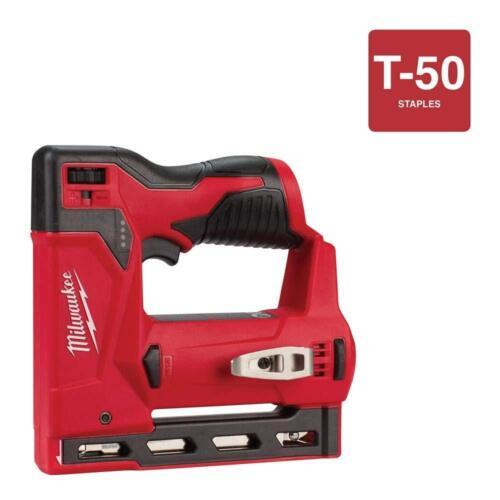 "Milwaukee M12™ 3//8/"" Crown Stapler 2447-20 NEW NIB Tool only"