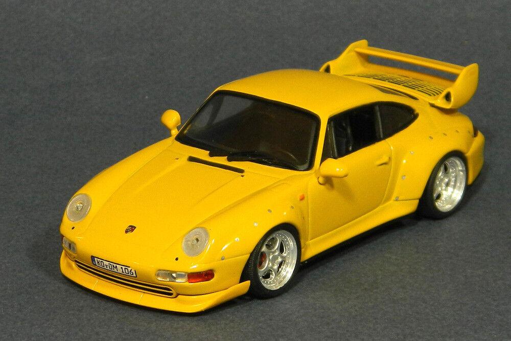 1 43 Porsche 911 GT 993 Vitesse 064A Gelb GT2 Corrected wheels offset diecast