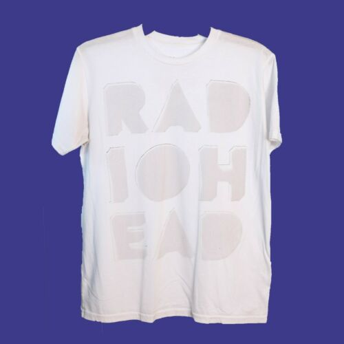 ✅RADIOHEAD Waste T Shirt S Vintage W.A.S.T.E Band