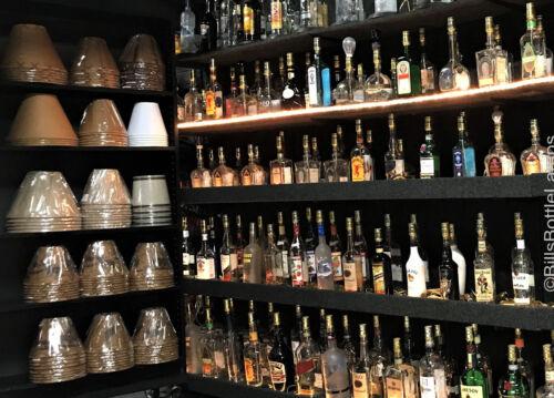 TITO/'S VODKA Large 1.75L Liquor Bottle TABLE LAMP Light /& Wood Base Bar Lounge