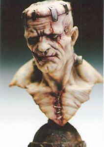 Frankenstein-039-s-Monster-Head-bust-1-4-Unpainted-Statue-Figure-Model-Resin-Kit