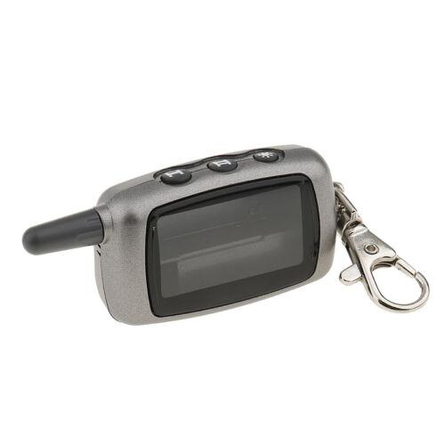 alarm Vehicle Security Car Alarm 2-Way A9/A6 LCD Remote Remote ...