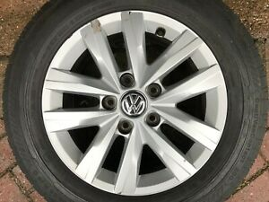Volkswagen-T5-Transporter-T6-16-034-Colmar-ROUE-ALLIAGE-amp-Pneu-7E0601025N-Highline
