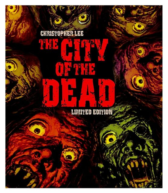 The City of the dead Australian Import (DVD, 2003) Limited Edition.