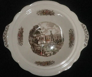 Vintage-Johnson-Bros-Royal-Homes-Of-Britain-Buckingham-Palace-Large-Bowl
