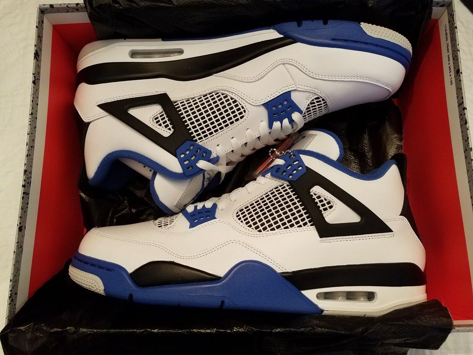 b6a813308c5 Nike Air IV White Motor Sport Men's size 14 Sneaker Jordan ...