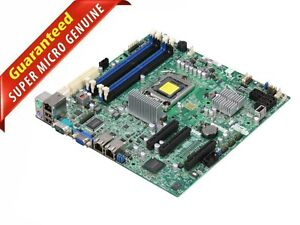Supermicro X9SCL Intel Chipset C202 Socket LGA1155 DDR3 UATX Server Motherboard