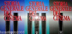 GHIRARDINI-BASSOLI-STORIA-GENERALE-DEL-CINEMA-3-VOLUMI-ORSA-MAGGIORE-1988