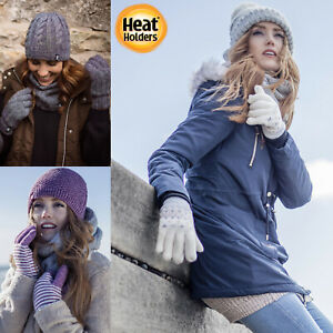 Heat-Holders-Femme-2-3-TOG-chaud-anti-froid-isolants-hiver-gants-thermiques
