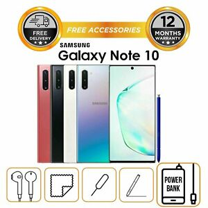 Samsung-Note-10-256gb-N970-Single-Sim-Factory-Unlocked-All-Colours